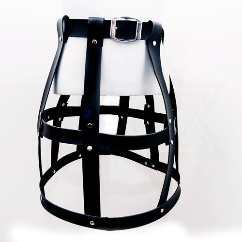 Bondage skirt harness