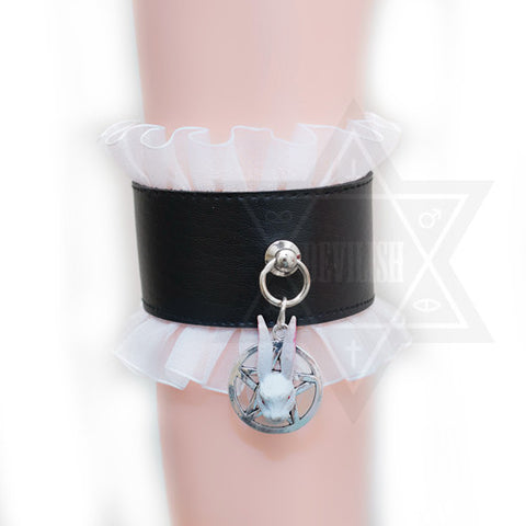 Black magic ankle cuff