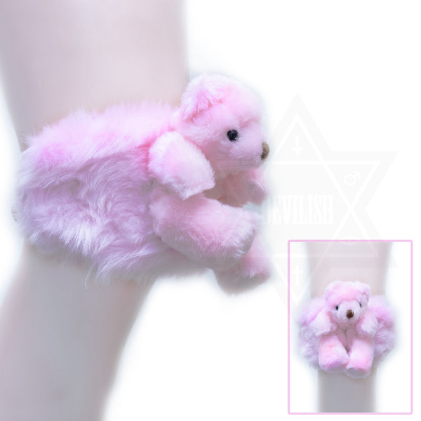 Baby bear knee pad garter