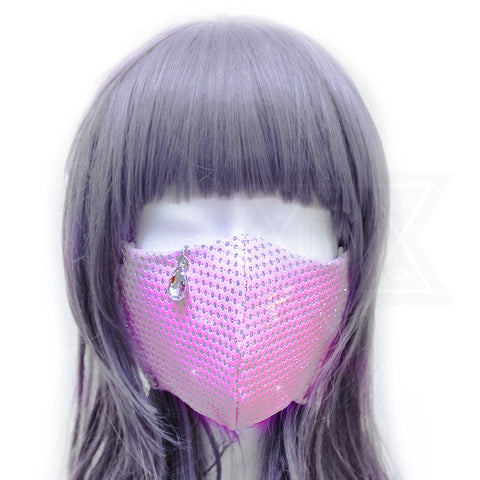 Sad girl mask