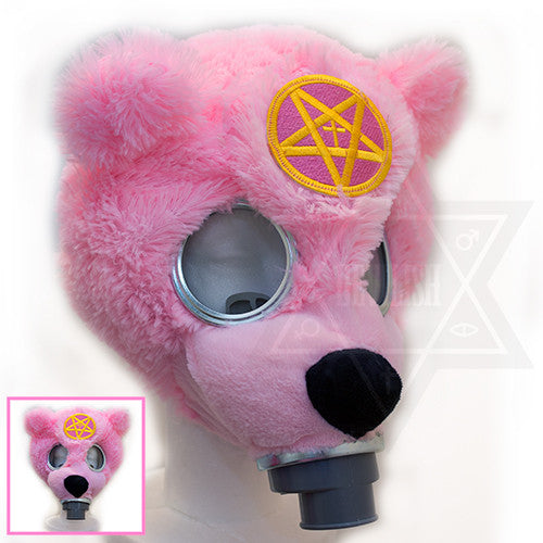 Devilish bear gas mask