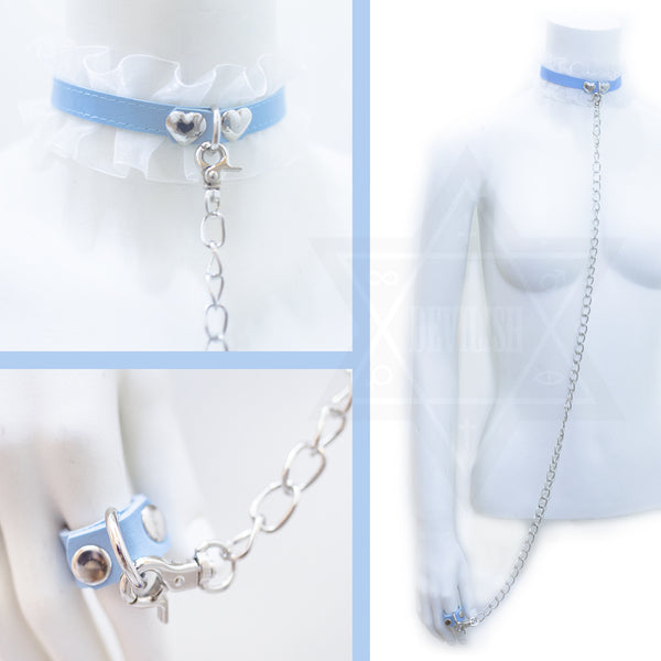 Call me baby choker ring set