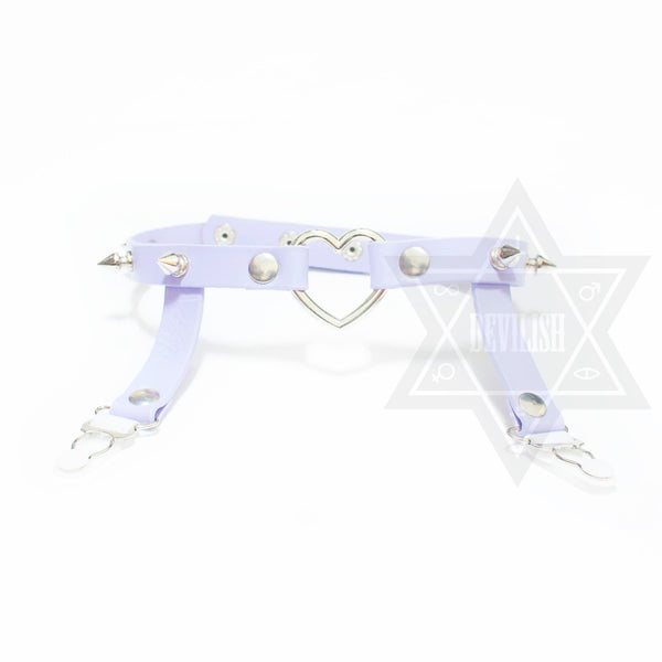 Sweet heart garter(Black,Pink,Green,Purple,White)