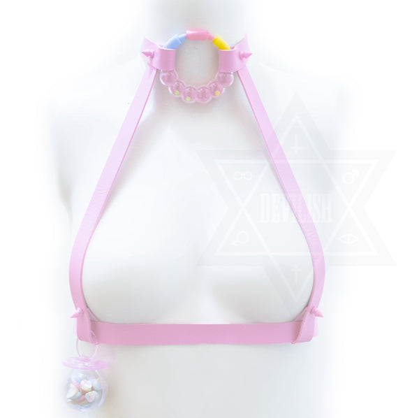 Baby girl harness(pink)