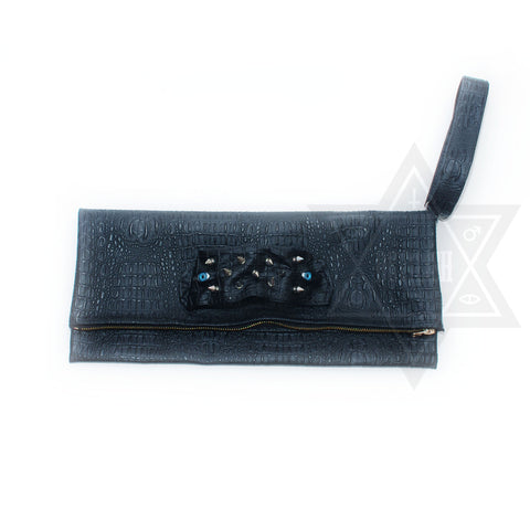 Dark monster Clutch bag