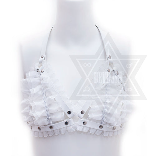 Pure white harness(lace)