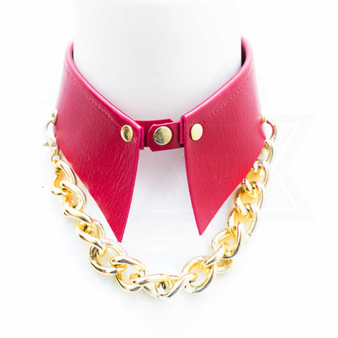 On fire collar