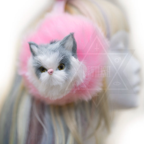 Fancy kitten earmuff