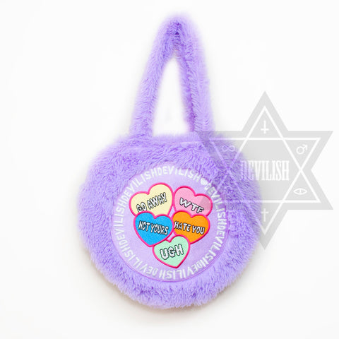 Punky heart bag