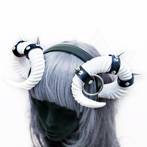 Bondage horns headpiece*