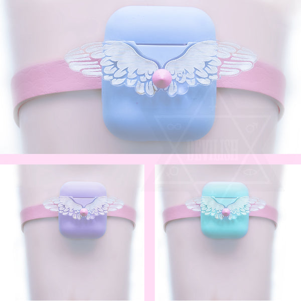 Fallen angel airpods box garter