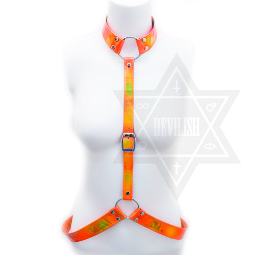 Orange soda harness