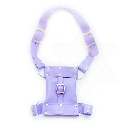 Lilac pouch harness