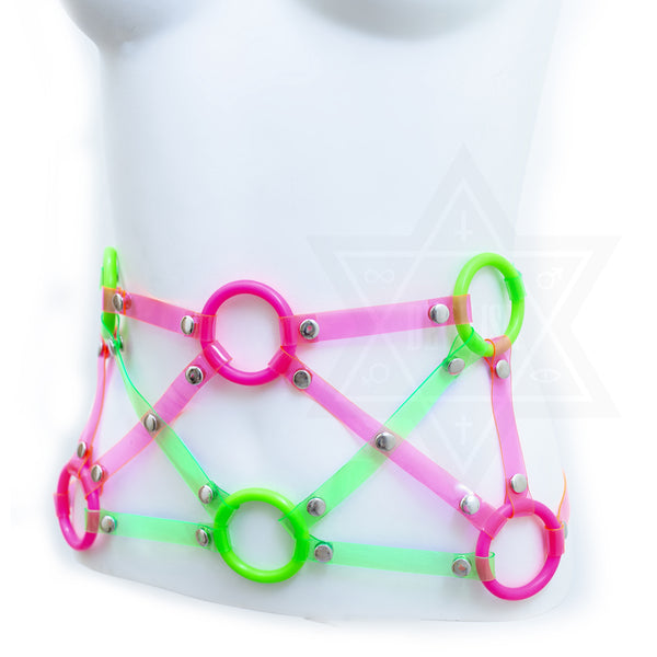 Neon party corset