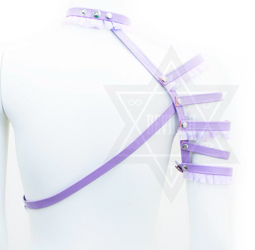 Pastel fighter harness