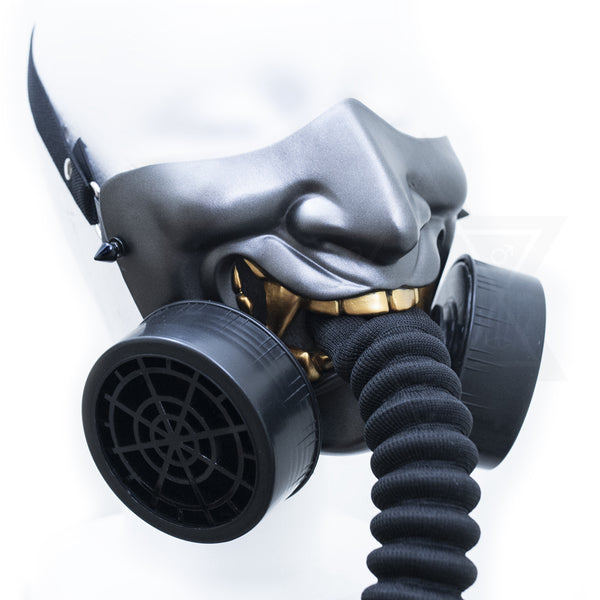 Hannya gas mask