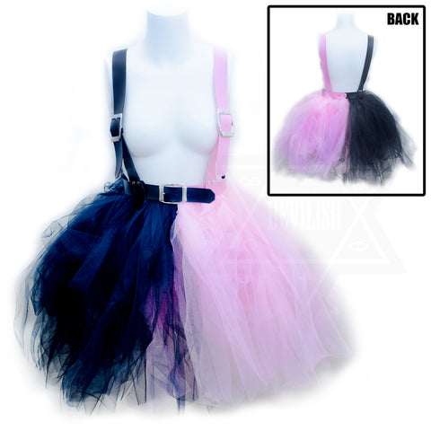 Two sided harness tutu