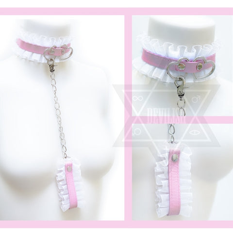 Entwined heart Choker set*