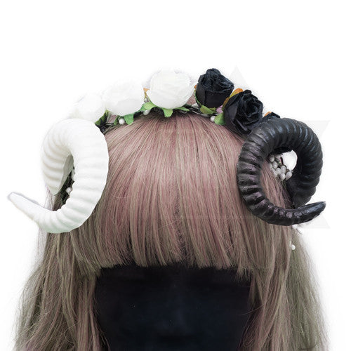 Yin and Yang hairband #headpiece