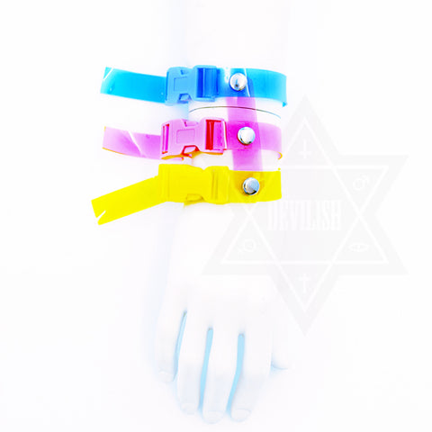 Neon party bangle