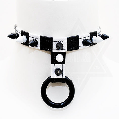 Black & White choker