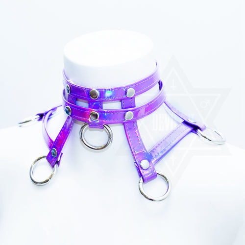 Purple in space Choker