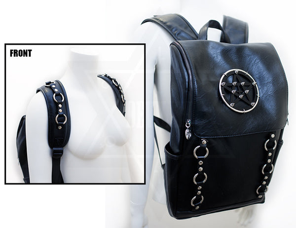 Pentagram rings bag