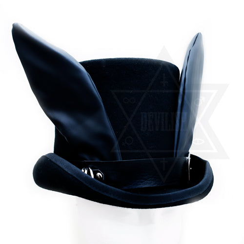 Dark messenger hat