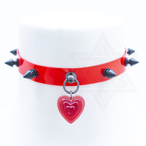 Bloody truth choker(heart)