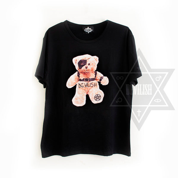 Devilish bear T-shirt