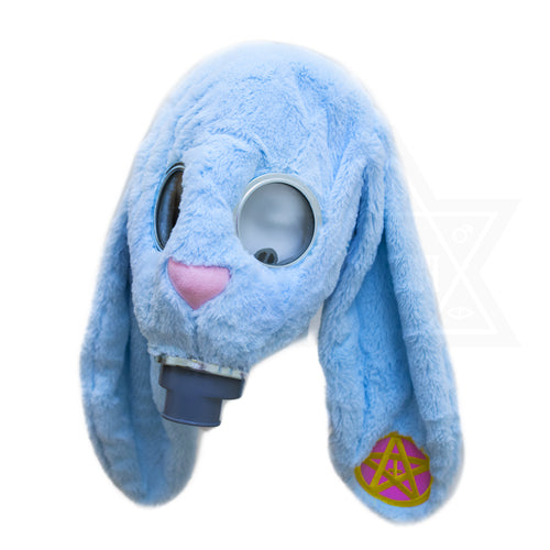 Devilish rabbit gas mask