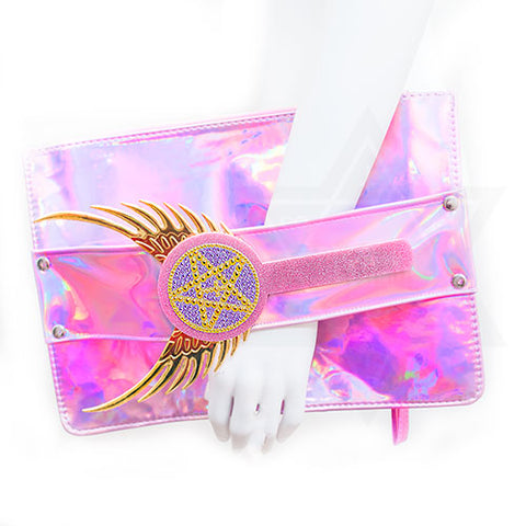 Magical girl clutch bag