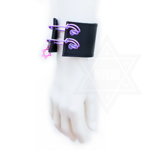 Hexagram bangle