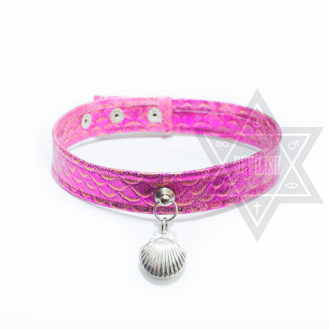 Mermaid Choker(Pink,Green)