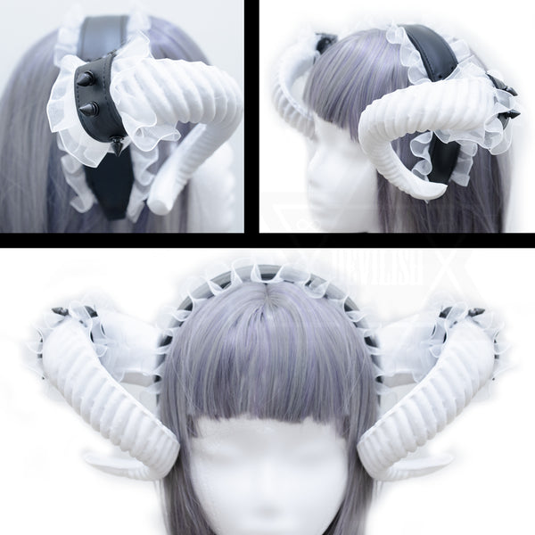 Fetish girl horns
