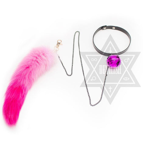 Cosmic kitten choker(Pink,Blue)