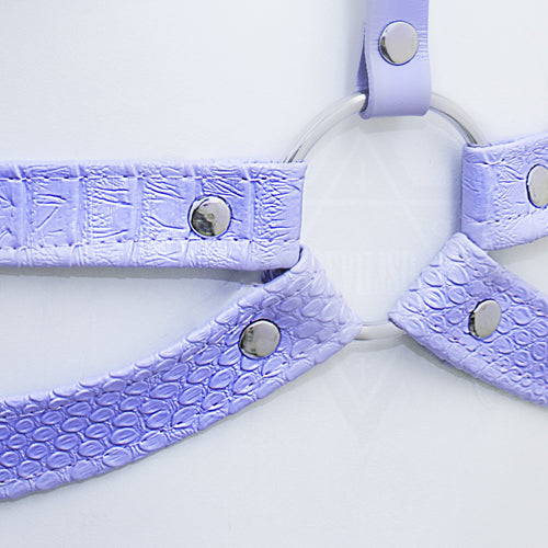 Lilac shock harness