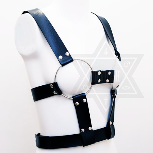Bondage doll harness