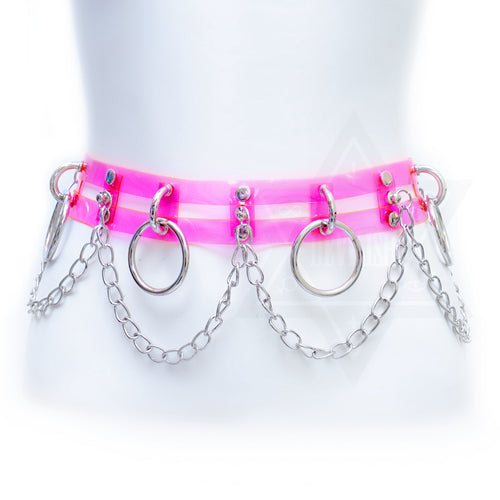 Pink jelly belt