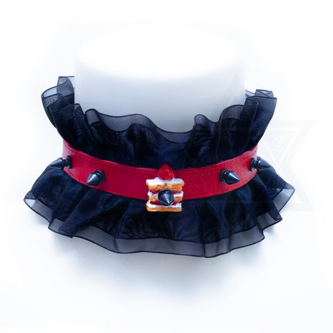 Gothic tea party choker