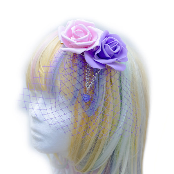 Pastel dream Headpiece(Blue,Pink)