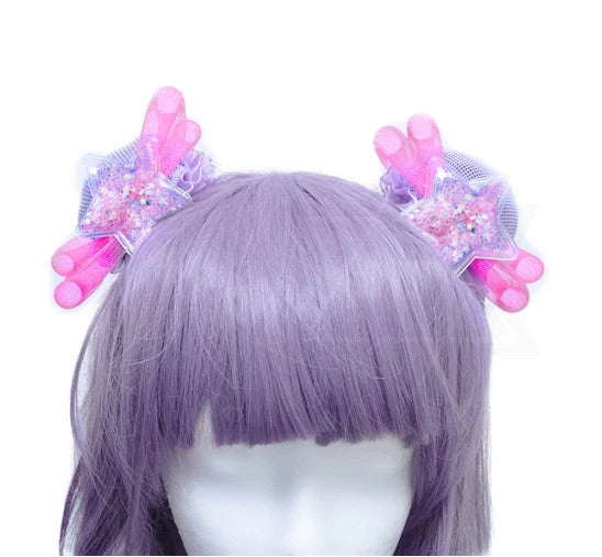 Fairy magic hair bun Covers