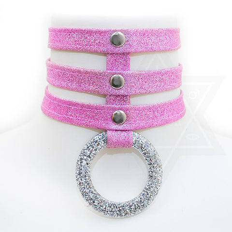 Fairy dust choker(pink)