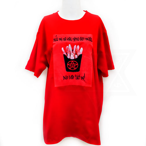 Crispy finger T-shirt
