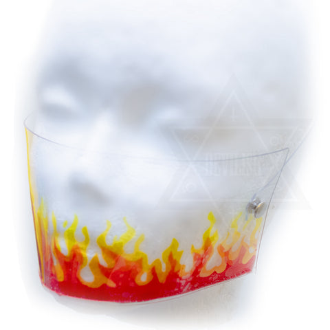 Flame mask