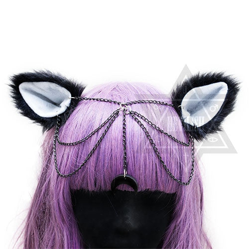 Luna headpiece*