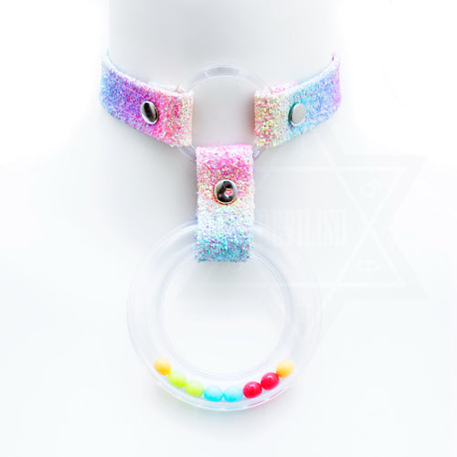 Baby girl choker(rainbow)