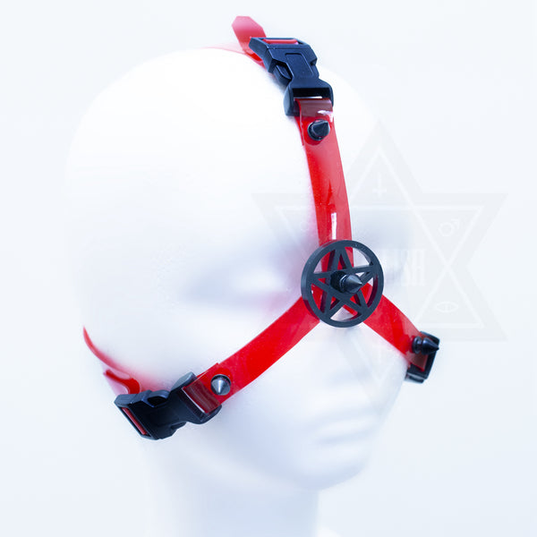 Blood curse head harness