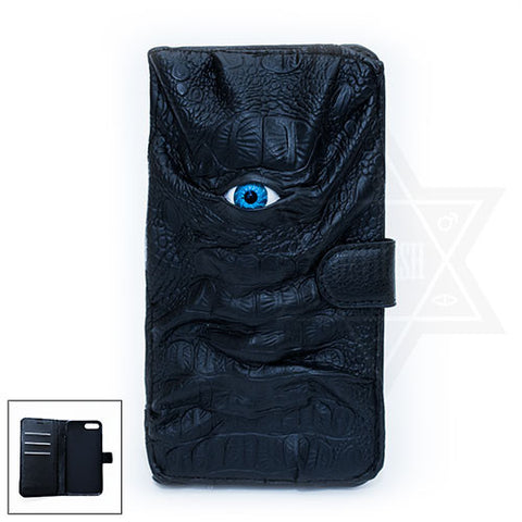 Dark Demon Eye phone case (Notebook type )