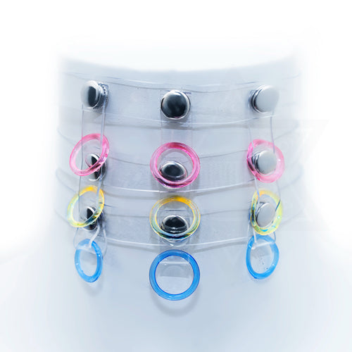 Jelly rings choker